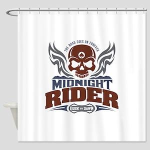 Midnight Rider Shower Curtain