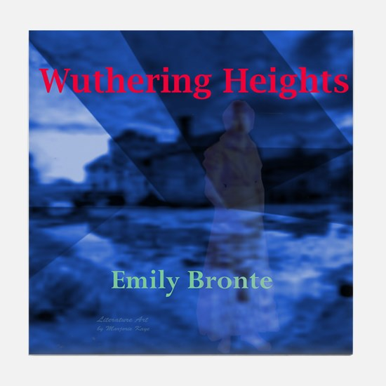 Wuthering Heights Tile Coaster
