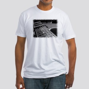 Electric Guitar 1 Fitted T-Shirt