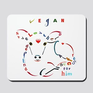 Calf Typography Mousepad