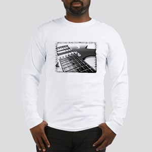 Electric Guitar 1 Negative Long Sleeve T-Shirt