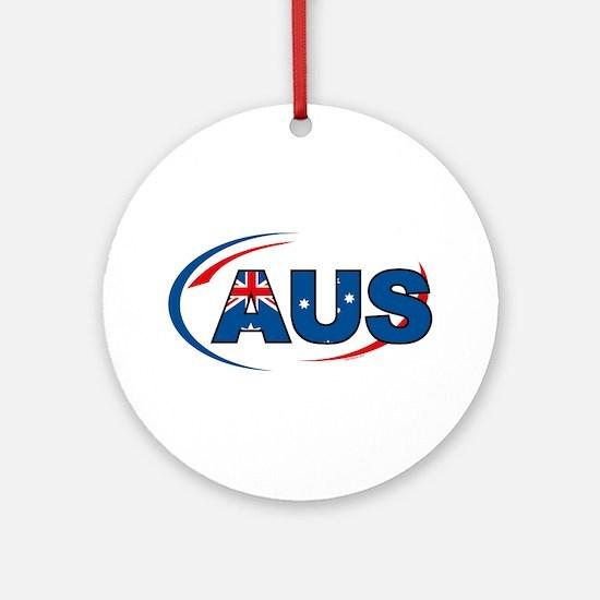 Country Code Australia Ornament (Round)