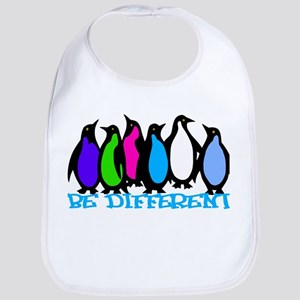 Be Different Penguins Bib