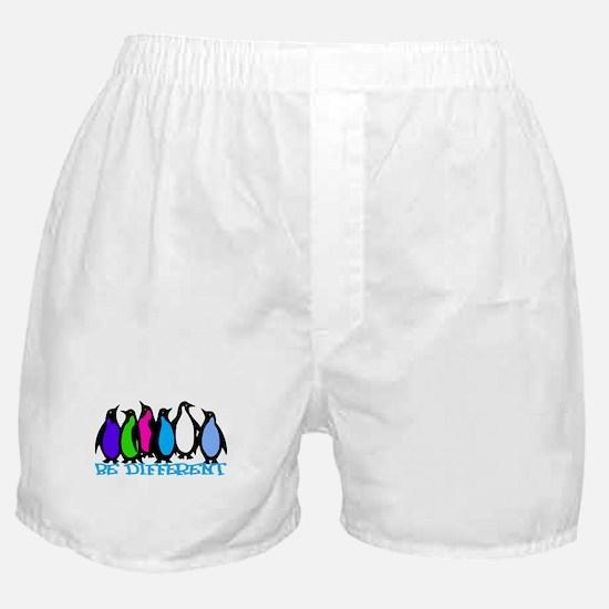 Be Different Penguins Boxer Shorts