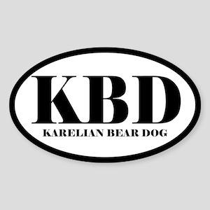 KBD Karelian Bear Dog Sticker