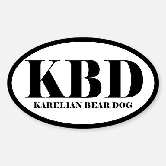 KBD Karelian Bear Dog Decal