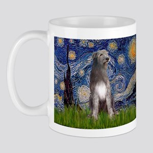 Starry/Irish Wolfhound Mug