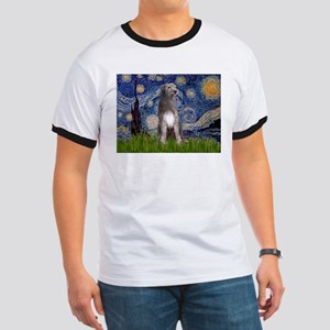 Starry/Irish Wolfhound Ringer T