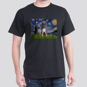 Starry/Irish Wolfhound Dark T-Shirt