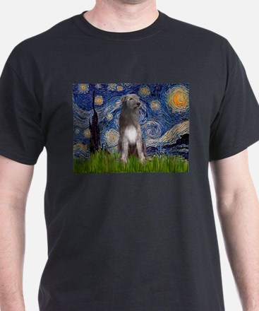 Starry/Irish Wolfhound T-Shirt