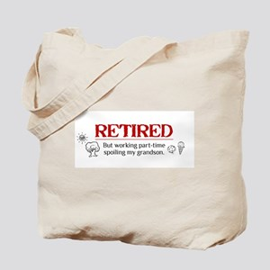 retired.gif Tote Bag
