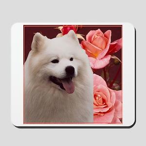 Rosy Samoyed Sammy Mousepad