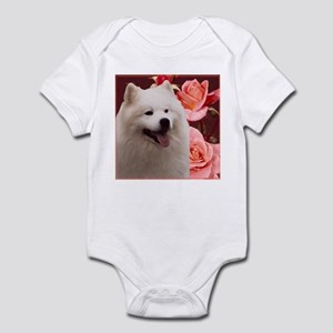 Rosy Samoyed Sammy Infant Bodysuit