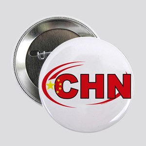 """Country Code China 2.25"""" Button"""