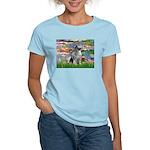 Lilies / Keeshond Women's Light T-Shirt