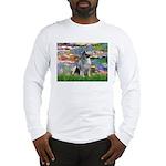 Lilies / Keeshond Long Sleeve T-Shirt