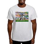 Lilies / Keeshond Light T-Shirt