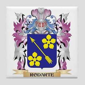Rodarte Coat of Arms - Family Crest Tile Coaster