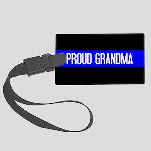 Police: Proud Grandma (The Thin Large Luggage Tag