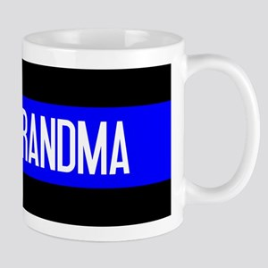 Police: Proud Grandma (The Thin Blue Li Mug
