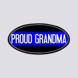 Police: Proud Grandma (The Thin Blue Line) Patch