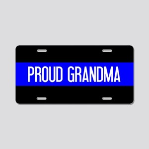 Police: Proud Grandma (The Aluminum License Plate
