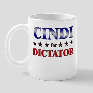 CINDI for dictator Mug