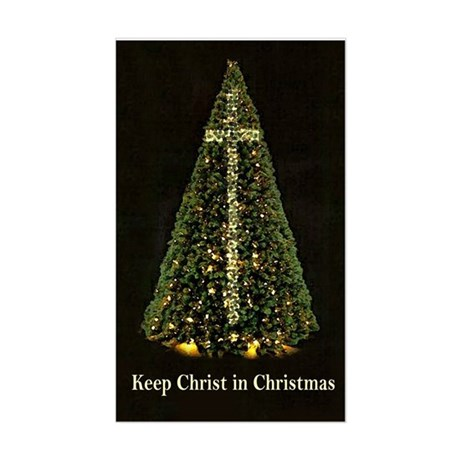 KEEP CHRIST IN CHRISTMAS - Sticker