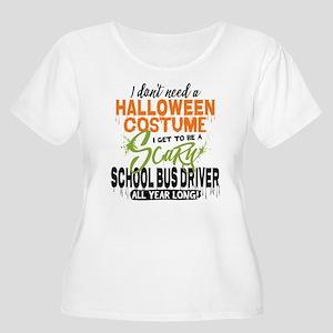 School Bus Dr Women's Plus Size Scoop Neck T-Shirt