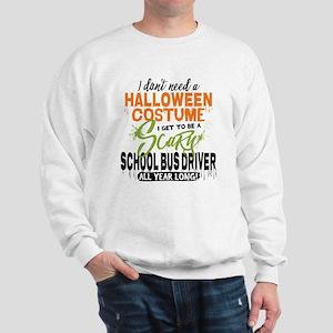 School Bus Driver Halloween Sweatshirt