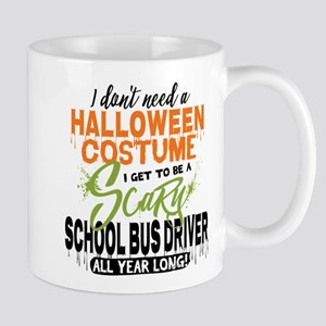 School Bus Driver Halloween Mug