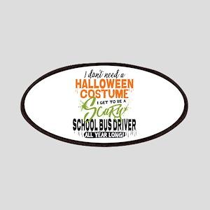 School Bus Driver Halloween Patch