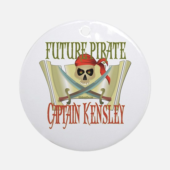 Captain Kensley Ornament (Round)