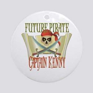 Captain Kenny Ornament (Round)
