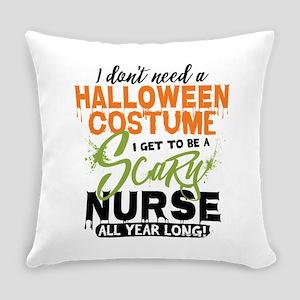 Nurse Halloween Everyday Pillow