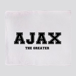 AJAX THE GREATER Throw Blanket