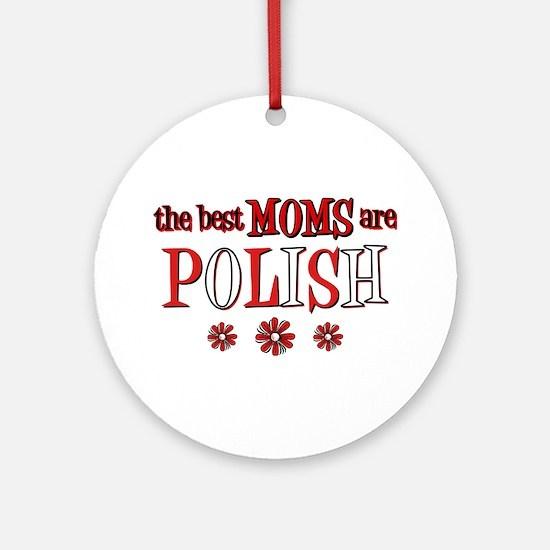 Polish Moms Ornament (Round)