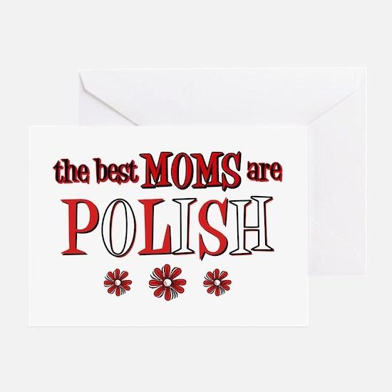 Polish Moms Greeting Card