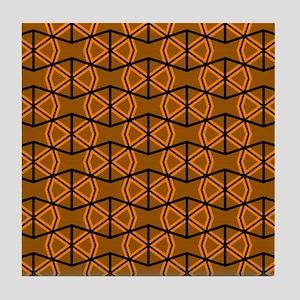 BROWN BOWTIES Tile Coaster
