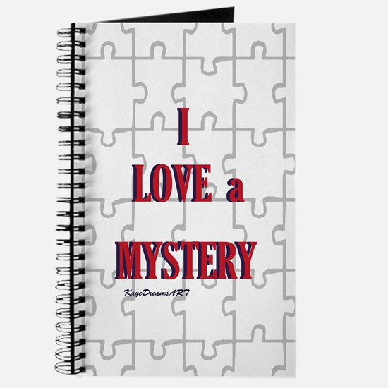 I love a Mystery Journal