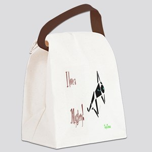 I Love a Mystery Canvas Lunch Bag