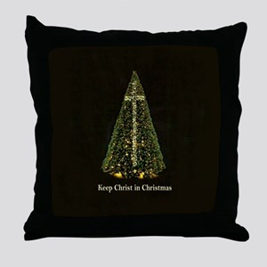 KEEP CHRIST IN CHRISTMAS - Throw Pillow