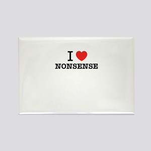 I Love NONSENSE Magnets