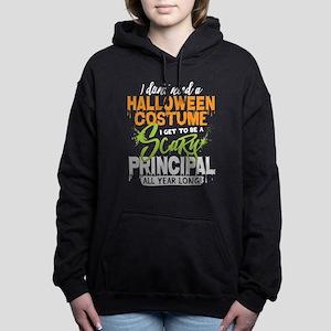 Principal Halloween Women's Hooded Sweatshirt