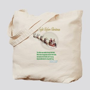 T'was The Night Before Christmas Tote Bag