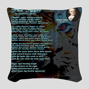 The Tyger Woven Throw Pillow