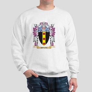 Rosas Coat of Arms - Family Crest Sweatshirt