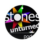 Stones Unturned Podcast Logo Round Ornament