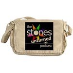 Stones Unturned Podcast Logo Messenger Bag