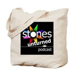 Stones Unturned Podcast Logo Tote Bag